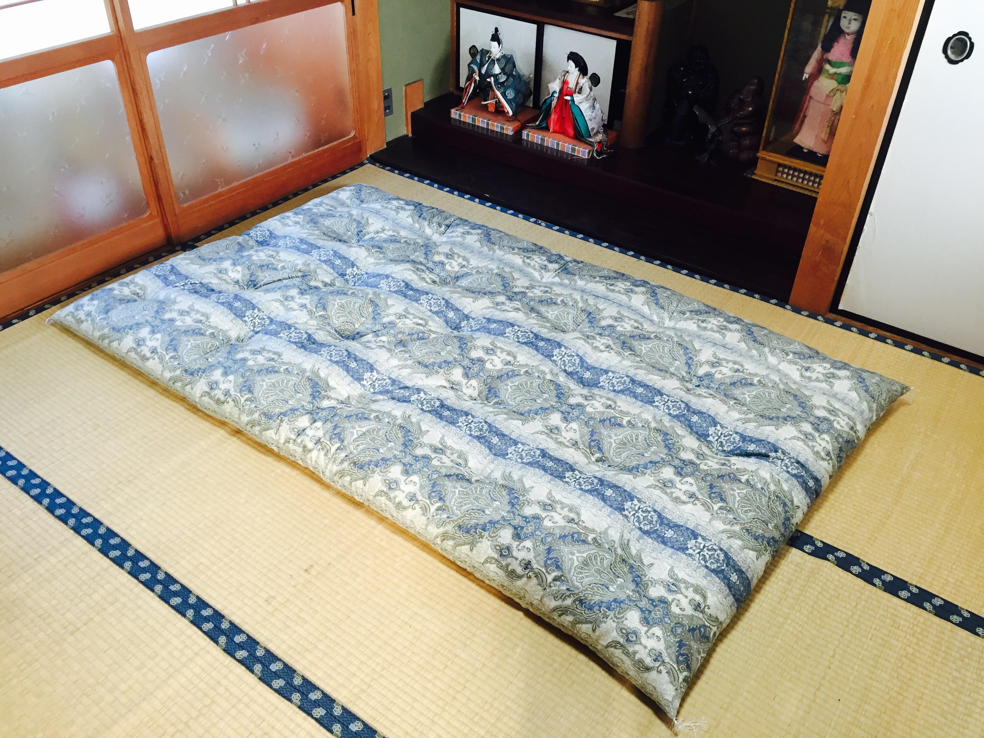 Blue Paisley Double shikibuton futon testimonial
