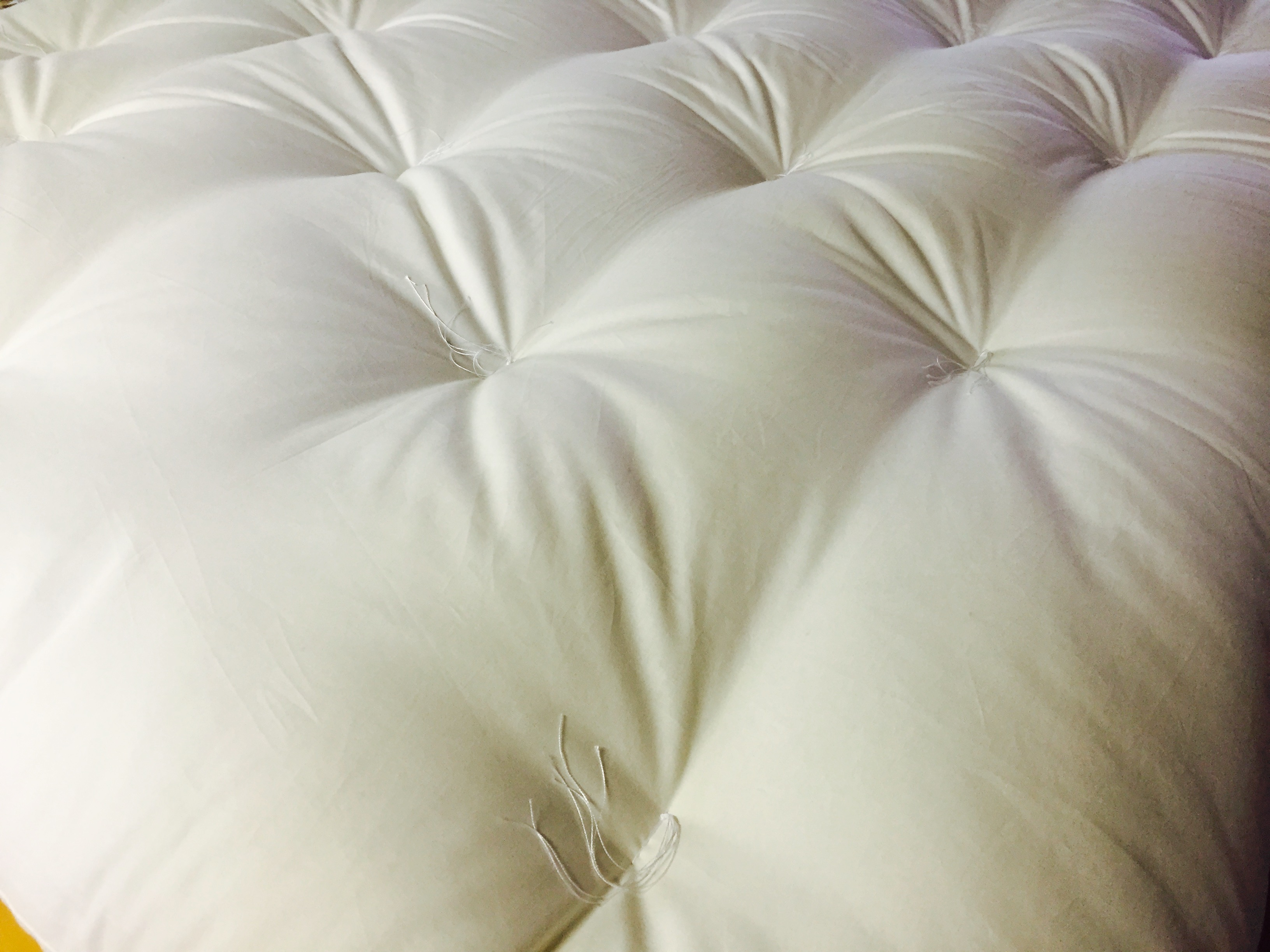 Shikibuton futon plain white image