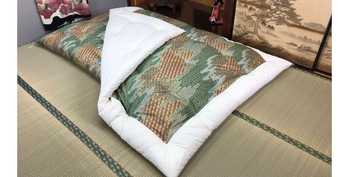 Kawa Green Kakebuton Quilt
